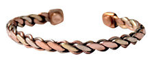 Jewelry Pure Copper Adjustable Cuff Magnetic Arthritis Bracelet New Armband
