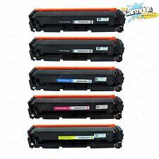 5PK 201X CF400X CF401X CF402X CF403X Color Toner For HP LaserJet M252dw M277