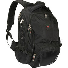 SwissGear Travel Gear 1592 Laptop Backpack - Black