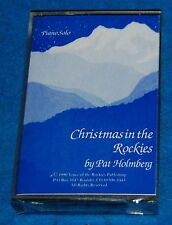 Christmas In The Rockies by Pat Holmberg Cassette, New & Factory Sealed