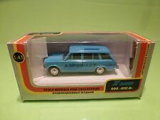 MADE IN USSR CCCP 10 GAZ 2102 LADA COMBI - BLUE 1:43 - GOOD CONDITION IN BOX