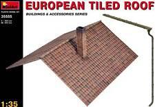 MiniArt - European Tiled roof Europäisches Ziegeldach Dach Modell-Bausatz - 1:35