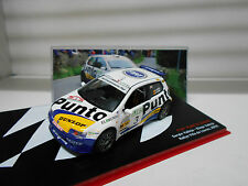 FIAT PUNTO S1600 RALLY VILLA DE LLANES 2002 VALLEJO ALTAYA IXO 1/43