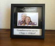 Grandma Photo Frame Good Mothers Day Gift for Gran/Grandmother SMALL FAULT