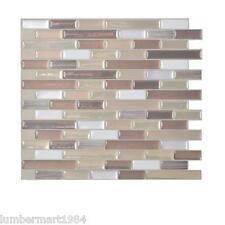 Smart Tiles SM1053-6 SELF-ADHESIVE WALL TILES 6/SHEET MURETTO DURANGO 3.84 sq/ft