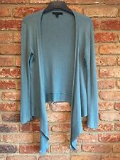 Boden Teal Angora Mix Waterfall Cardigan 12