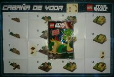Lego Star Wars 911614 Cabaña de Yoda Cabin Hut Limited Edition Disney Exclusive