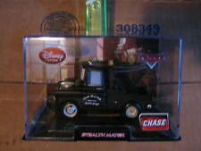 Disney Pixar Cars 2 Disney Store CHASE Stealth MATER  W/ display