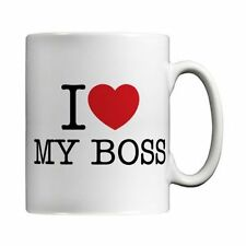 I Love My Boss Mug by MugBug