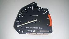 90-91 Honda CiViC CRX OEM INSTRUMENT GAUGE CLUSTER 5 Speed MT Tachometer Tach ef