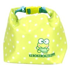 2016 Sanrio Keroppi Frog Keep Warm / Cool Lunch Box Tote Bag ~ NEW