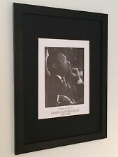 Martin Luther King framed print - 12''x16'' frame, icon wall art