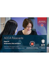 ACCA P1 Governance, Risk and Ethics: Passcards, BPP Learning Media Book The