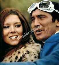 James Bond 007 George Lazenby Diana Rigg Ski Wintersport Film Mürren Schweiz ´69