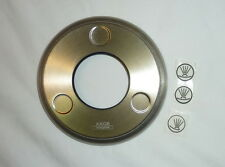 """Hansgrohe 98669821 5"""" Axor Montreux Shower Cover Plate BRUSHED NICKEL NEW!"""