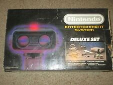Nintendo NES Deluxe Set Console ROB Robot Bundle Complete #ROB2