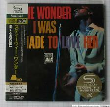 STEVIE WONDER - I Was Made To Love Her JAPAN SHM MINI LP CD NEU UICY-93870