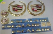 Cadillac ESCALADE!! 24K GOLD PLATED EMBLEM PACKAGE!!