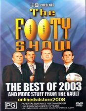 BEST of NRL FOOTY SHOW 2003 (Fatty Sterlo) Aussie Rugby League DVD (NEW SEALED)