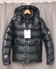 Brand New MONCLER MAYA Gray Steel Color Jacket Size 1 or S 100% Authentic