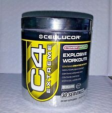 CELLUCOR C4 EXTREME EXPLOSIVE WORKOUT STRAWBERRY MARGARITA 30 SERVINGS 6/2017