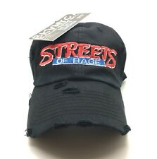 Black Denim Distressed Streets Of Rage Sega Nintendo Dad Cap Hat