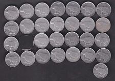 58 pcs MINT SET - 1988 1989 1990 1991 1992 1993 1994 1995 1996 1997 - 25P Steel