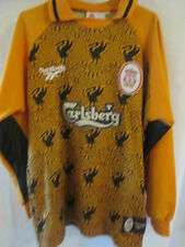 "Liverpool 1996-97 Goalkeeper Away Football Shirt Size Youths & Shorts 28"" /1727"