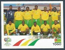 PANINI FIFA WORLD CUP-GERMANY 2006- #511-TOGO TEAM PHOTO
