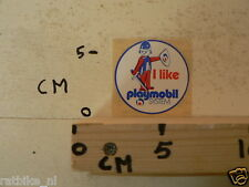STICKER,DECAL PLAYMOBIL I LIKE PLAYMOBIL SYSTEM