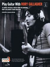 Play Guitar with Rory Gallagher Sheet Music 16 Songs Specially Mixed f 014050040