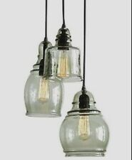 POTTERY BARN PAXTON 3-LIGHT PENDANT CHANDELIER NEW IN BOX ~ FAST, FREE SHIPPING!