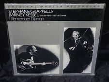 Stephane Grappelli, Barney Kessel I Remember Django SEALED JAPAN MFSL 1981 LP
