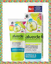 ALVERDE Beauty & Fruity Matifying Care Cream with organic lemon extract and shea