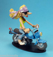Moto Joe Bar Team  Clara Lovely Suzuki Van Van 90  1/18  figurine