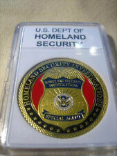 "U S DEPT OF HOMELAND SECURITY ""SPECIAL AGENT"" Challenge Coin"