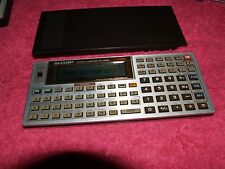 VINTAGE CALCULATOR SHARP PC-1403H POCKET COMPUTER 32KB RUNNING SEE PICTURES