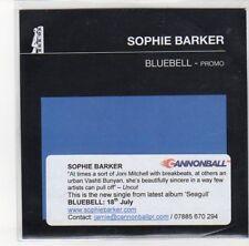 (DN61) Sophie Barker, Bluebell - 2011 DJ CD