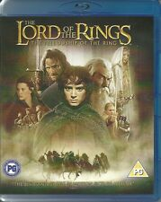THE LORD OF THE RINGS THE FELLOWSHIP OF THE RING - 2 DISC -  BLU RAY