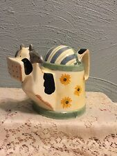 Decorative Cow Ceramic Watering/Sprinkling Can