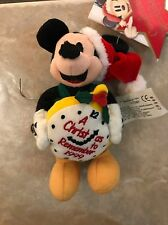 Disney Mickey Mouse A Christmas To Remember 1999 Plush