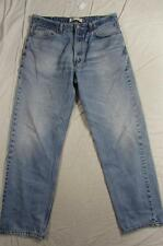 Levi 550 Relaxed Fit Faded Denim Jeans Tag Size 38x34 Measure 36x32