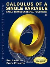 Calculus of a Single Variable : Early Transcendental Functions by Ron Larson...