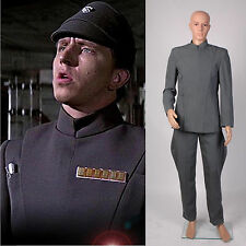 Star Wars Imperial Officer Uniform Costume Grey Version *Tailored*