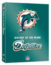 MIAMI DOLPHINS  History  NFL DVD  super bowl - posted  from UK american football