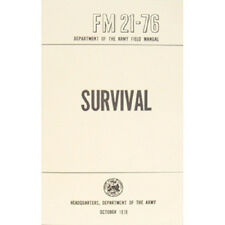 US Army Outdoor SURVIVAL Book Tactical Manual FM 21-76 - NEW