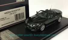 1/43 HI STORY HS086GY MAZDA ROADSTER 2013 RS MX5 MIATA GRAY resin model car