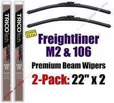 Wiper Blades 2-Pack Premium - fit 2003-2013 Freightliner M2 106 - 19220x2