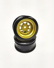 1/10 RC Drift Car Wheel rim  Gold JDM Wheel HPI TAMIYA YOKOMO