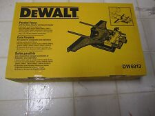 NIB DEWALT DW6913 Router Edge Guide with Fine Adjustment and Vacuum Adaptor